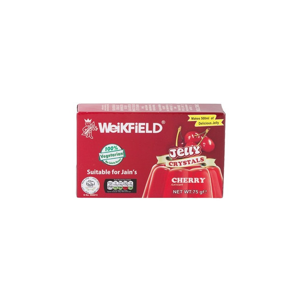 Weikfield Cherry Jelly Crystals - 75g