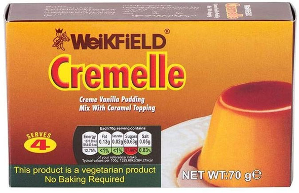 Weikfield Cremelle Pudding Mix - 70g