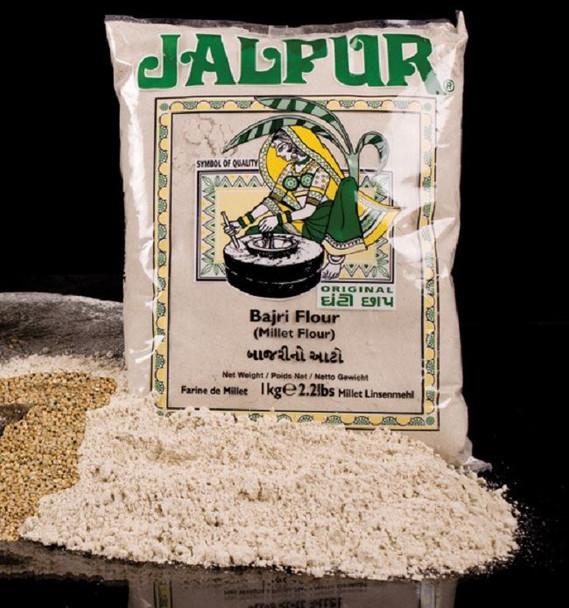 Jalpur Stone Ground Millet Flour (Bajri)