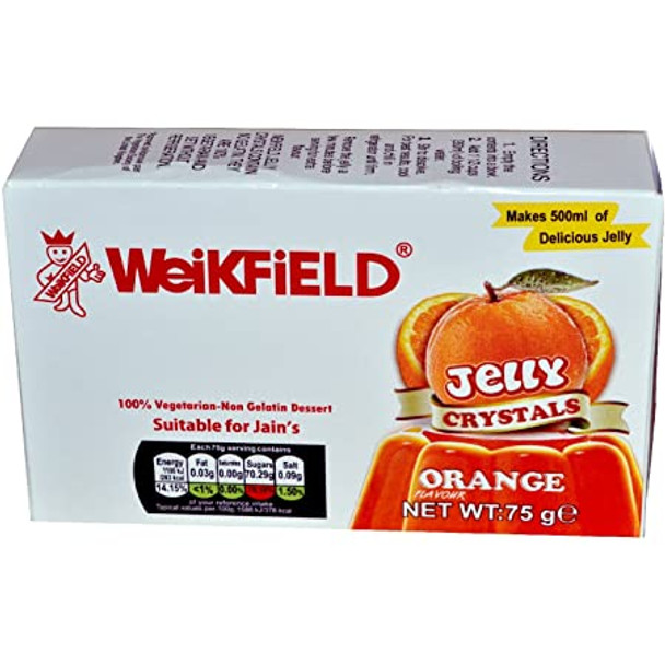 Weikfield Orange Jelly Crystals - 75g