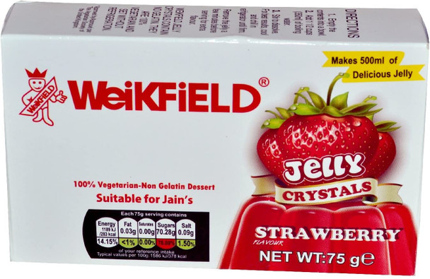 Weikfield Strawberry Jelly Crystals - 75g