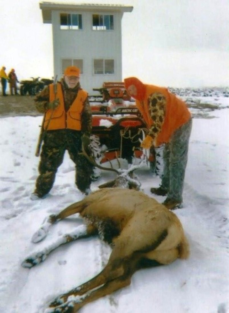 Cow elk are a trophy also.