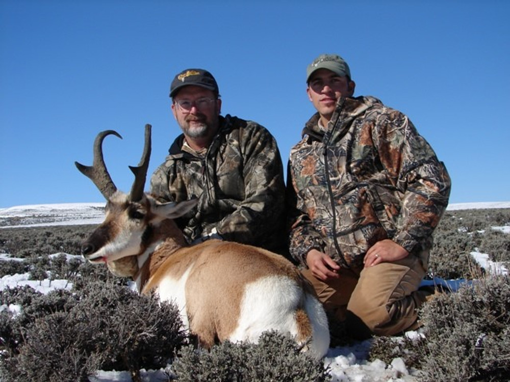 Successfull pronghorn hunt, again.