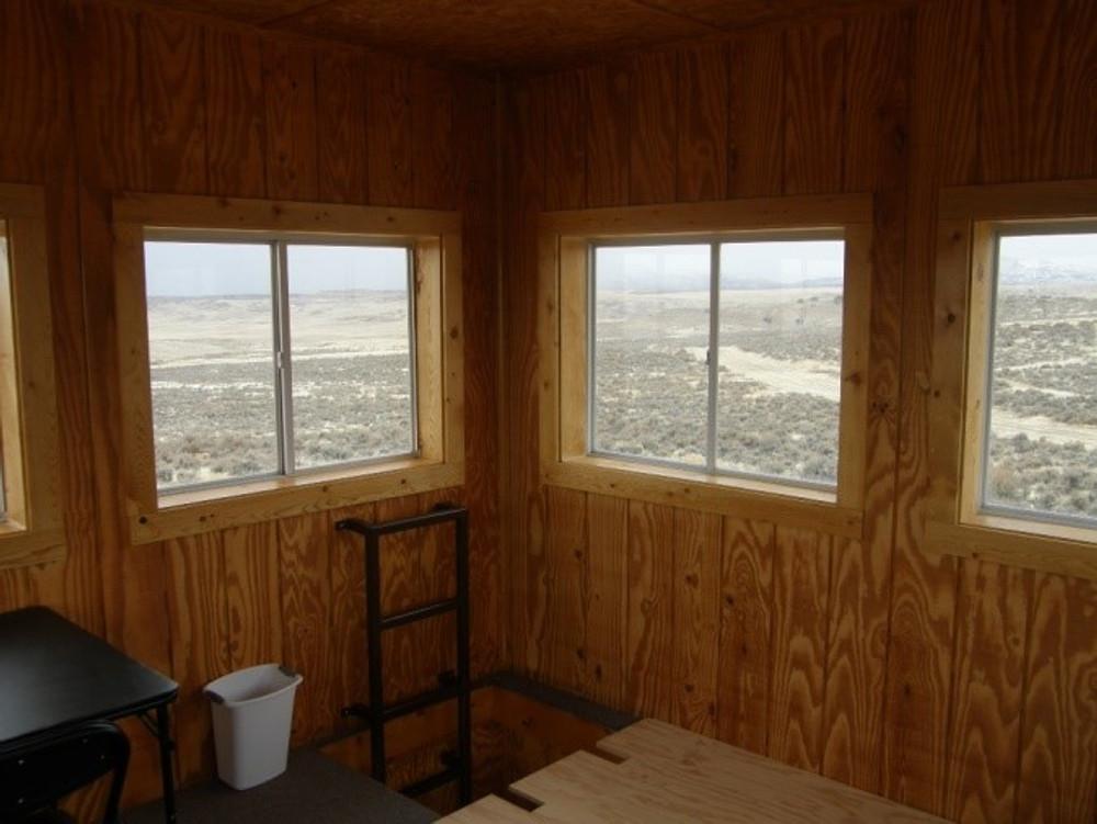 Upstairs cabin.