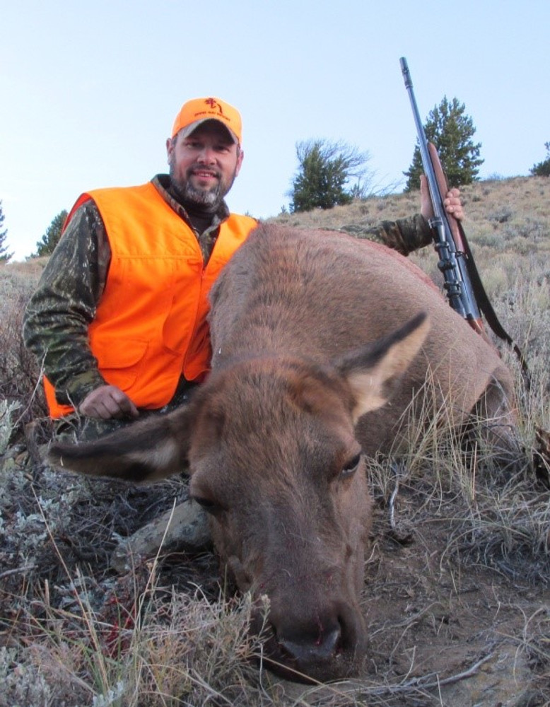 Cow elk is still a trophy and tastes good.