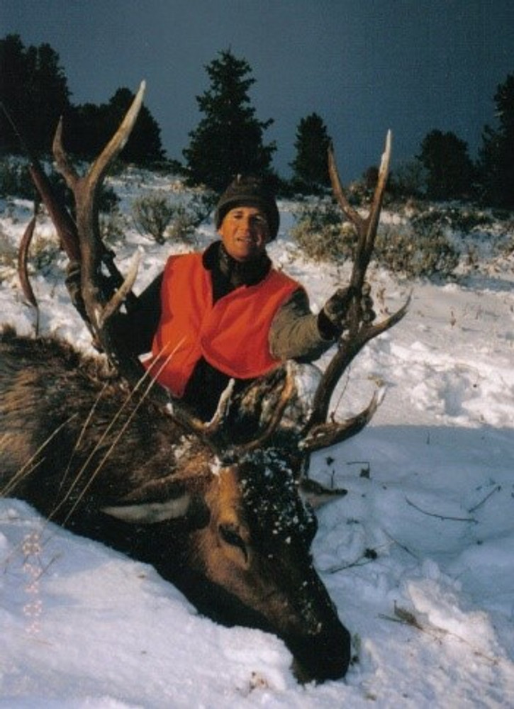 A little snow helps elk hunting.