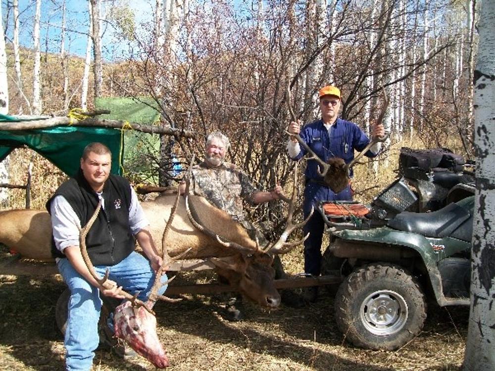 ATV travel makes the hunting easier.