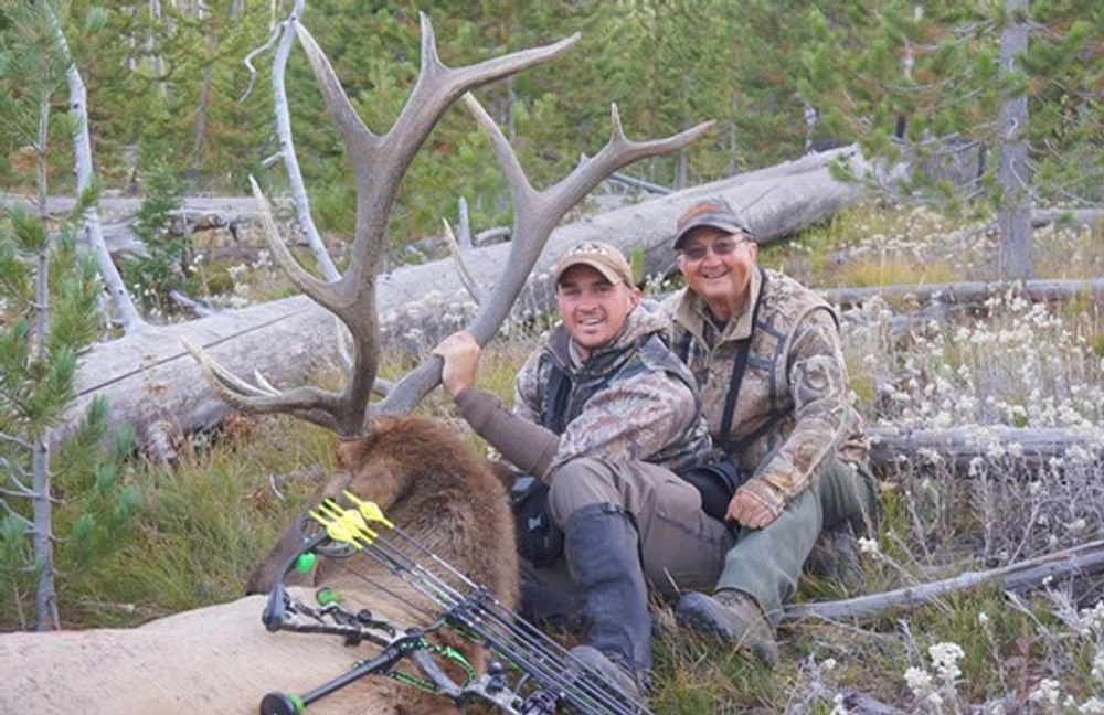Father and son elk hunt of a lifetime.