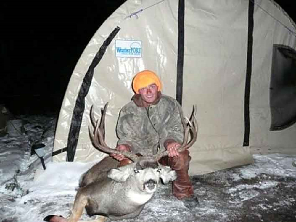 Guided pack-in tent camp mule deer hunt.