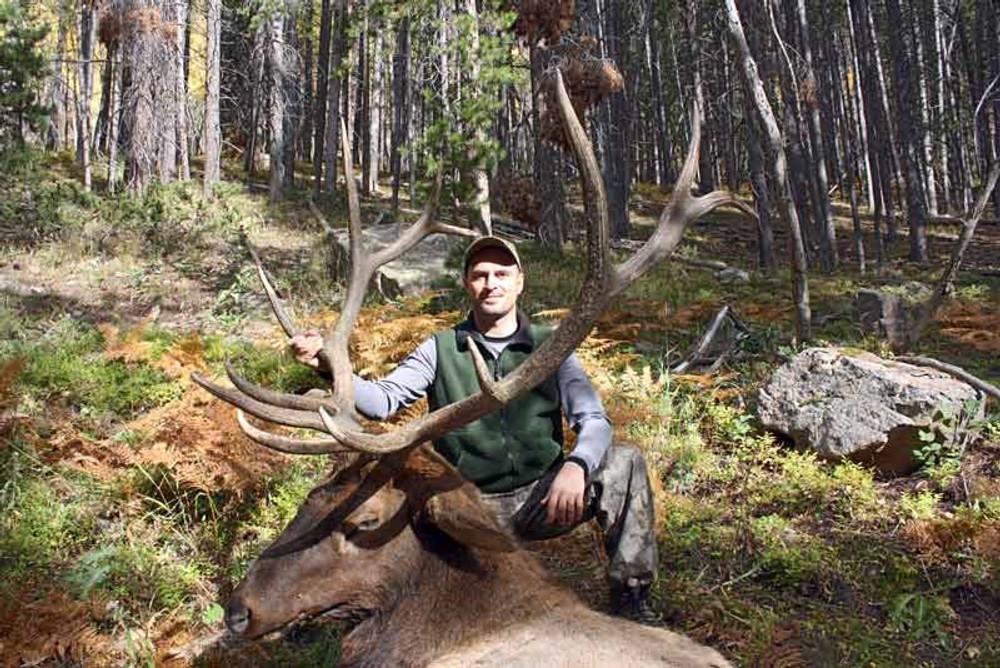 Archery is a favorite elk season.