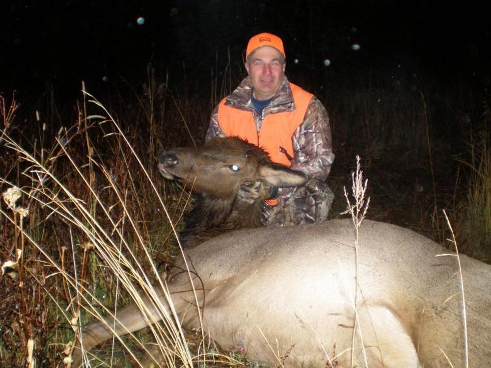 Successful cow elk hunt