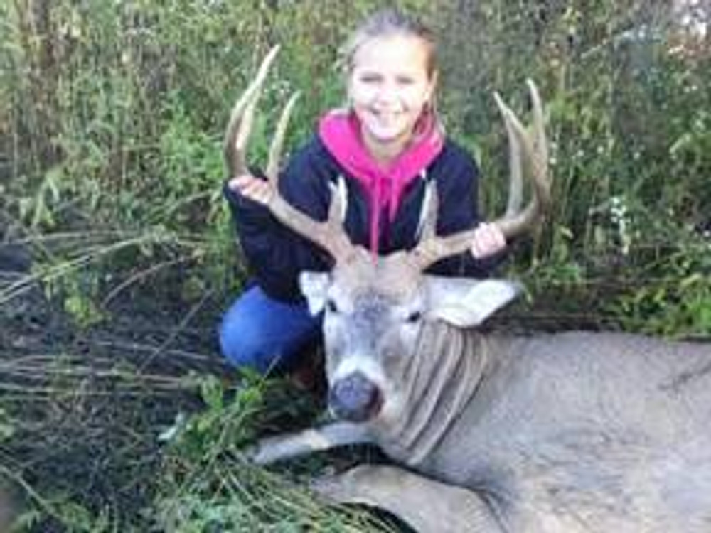 Teach them to hunt whitetail young.