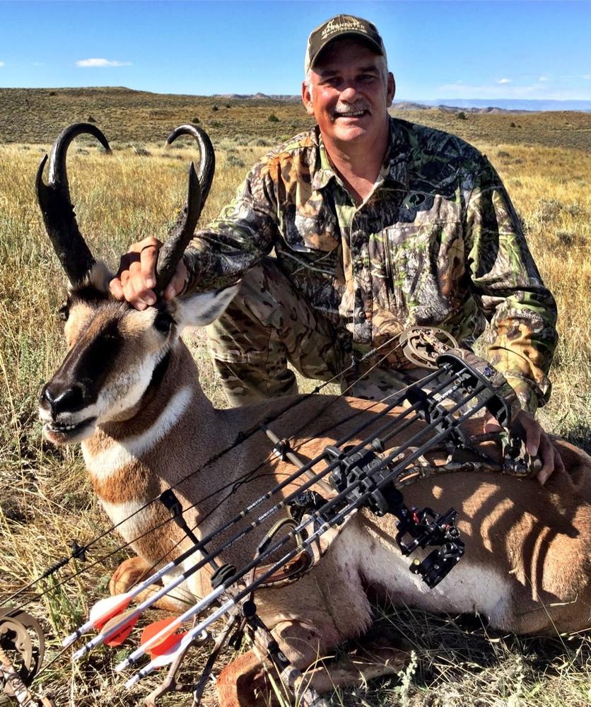 Semi-guided DIY antelope hunt.