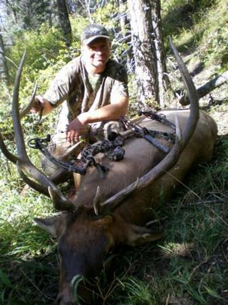 Successful elk hunt.