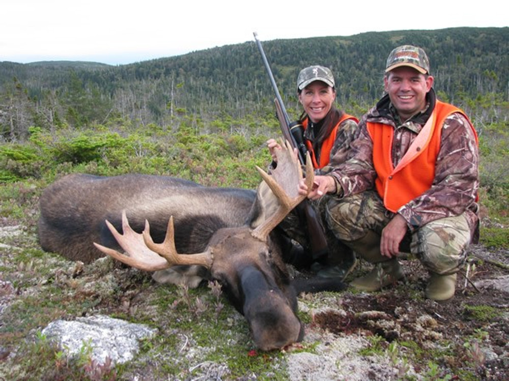Happy hunters and a winter's worth of meat.