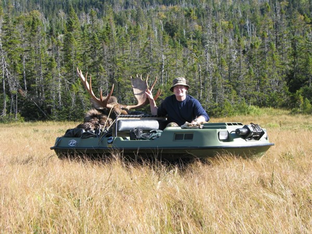 Argo goes anywhere the moose are.