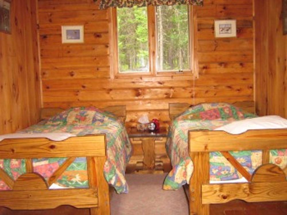 Nice moose lodge.
