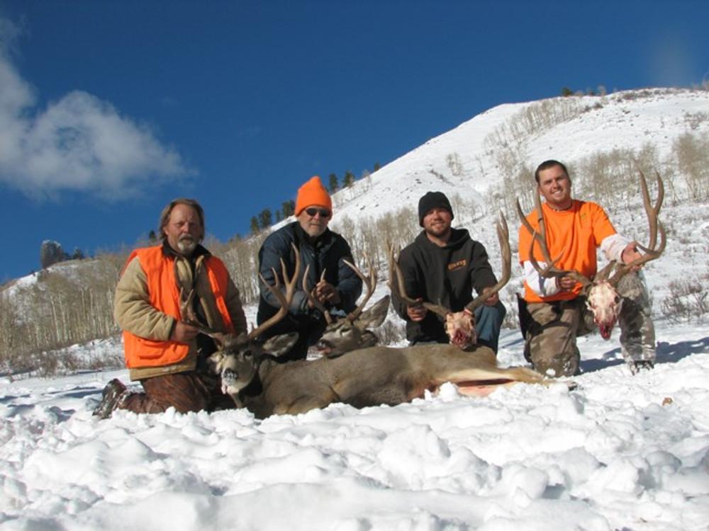 Hunt #5072 Semi-guided/DIY Elk/Deer Horse & ATV Drop/Base Camp