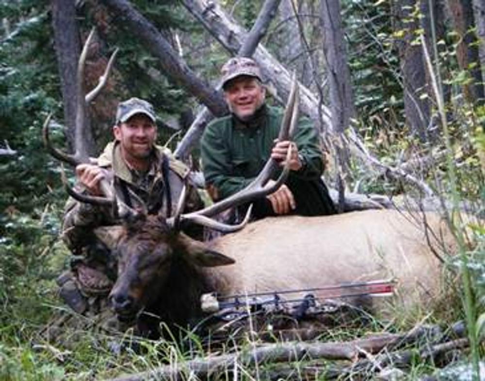 Guided elk hunt success.