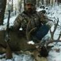 Another mule deer buck taken in early snow near Crazy French ranch.