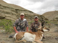 Great guided antelope hunt on private ranch