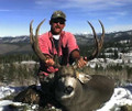 High country DIY mule deer with cabin lodging.