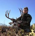 4x4 mule deer hunter and trophy
