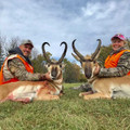 Doubled up on trophy antelope.