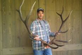 Home with a wall hanger elk rack.