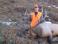 Good 3rd rifle bull elk.