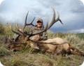 Guided estate elk hunt on private land.