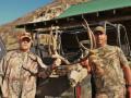 Successful mule deer hunt.