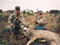 Happy family of hunters.