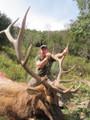 Trophy unit elk hunting in Colorado.
