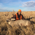 Heavy deer will make it tough to get out without a guide.