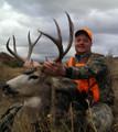 All smiles on this mule deer hunter.
