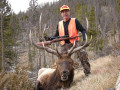A nice 6x6 bull in my old age on a low impact hunt.