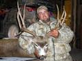 A 6x6 trophy mule deer buck.
