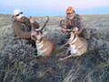 Double tagged out on trophy pronghorn antelope