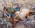 Successful first elk hunt.