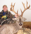 Nice mule deer buck with kickers and stickers.