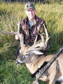 Archery, muzzleloader or rifle works for whitetail bucks.