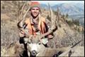 Nice mule deer buck during rifle season.