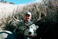 Mule deer success on private land.