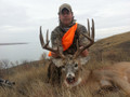 Decent whitetail buck from the lease.