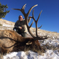 """Trophy 300"""" or better elk on this 12,000 acre Wyoming ranch."""