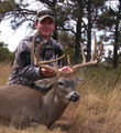 Typical 10 point mainframe whitetail buck.