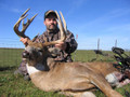 Trophy whitetail hunting