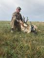 Muzzleloader DIY hunt for pronghorn antelope.