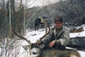 A little snow helps tracking your buck.